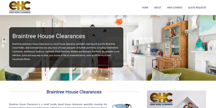 Braintree house clearance services