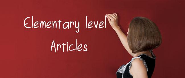 A1 Articles