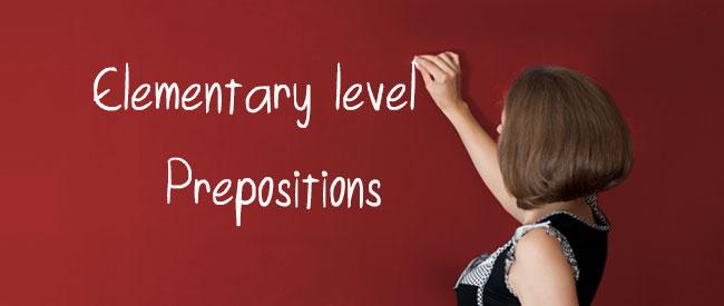 A1 - Prepositions