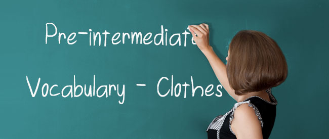 A2 Vocabulary - Clothes