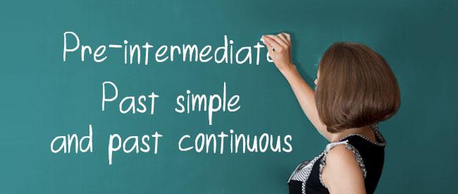 A2 Past Simple - Past Continuous