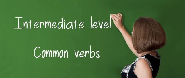 B1 Common Verbs